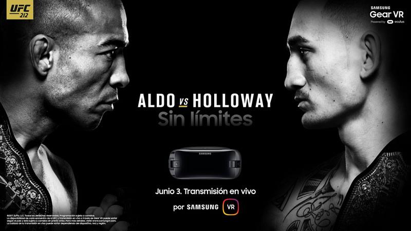 Samsung transmitirá UFC 212 en vivo por realidad virtual - samsung-ufc-212-realidad-virtual