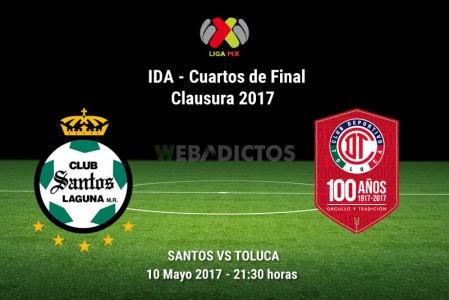 Santos vs Toluca, Liguilla del Clausura 2017 | Resultado: 1-4
