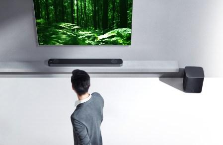 Nueva gama de equipos de audio y barra de sonido LG