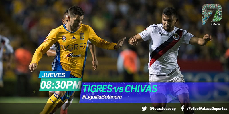 Final de ida entre Tigres vs Chivas por Azteca Deportes - tigres-vs-chivas-final-clausura-2017-azteca-deportes