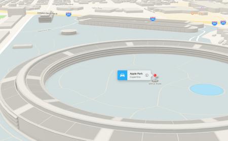 Ya puedes ver en 3D el Apple Park en los Mapas de Apple