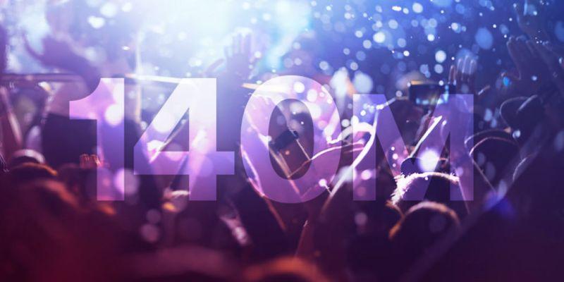 Spotify llega a los 140 millones de usuarios activos - 140m-spotify-800x400
