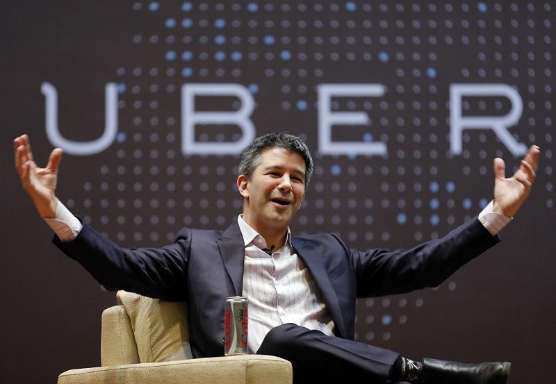 CEO de Uber deja la empresa por tiempo indefinido - 577126e252bcd023008cbed8-2400-800x553