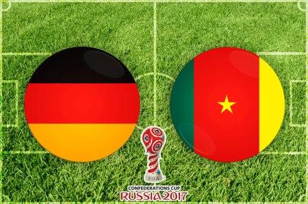 Alemania vs Camerún, Confederaciones 2017 ¡En vivo por internet!