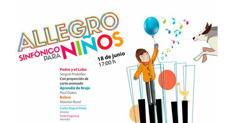 """allegro sinfonico para ninos 800x420 Cinépolis presentan en vivo: """"Allegro Sinfónico para Niños"""" en 37 salas de todo el país"""