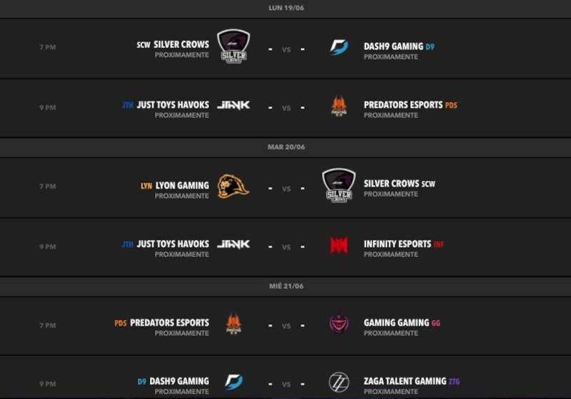 Lyon Gaming regresa a la cima durante la Semana 3 LLN de League of Legends - calendario-semana-4-clausura-lln-2017-800x560