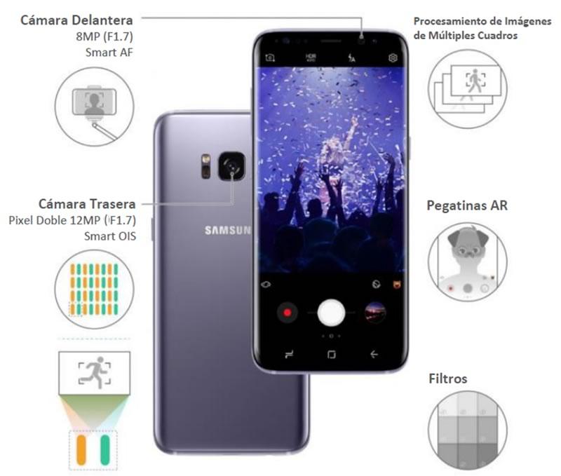 camara s8 6 Conoce más de la cámara del Samsung Galaxy S8