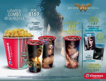 Cinemex ofrecerá en exclusiva el comic Rebirth de Wonder Woman y DC Universe Rebirth
