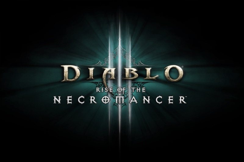 Ascenso del Nigromante ¡Ya disponible! un héroe oscuro regresa a Diablo III: Reaper of Souls - d3_necromancer_logo-800x533