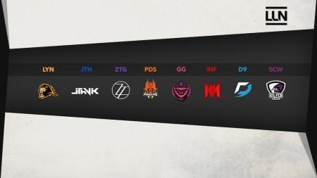La Liga Latinoamérica Norte de League of Legends ya comenzó con grandes sorpresas - equipos-participantes-en-la-temporada-de-clausura-de-la-liga-latinoamerica-norte-2017