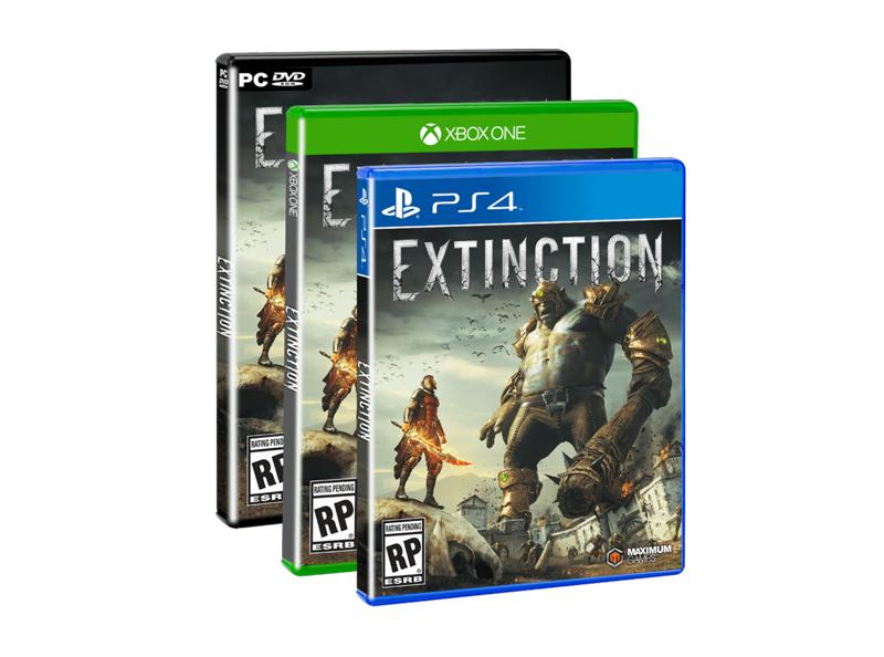 Iron Galaxy y Maximum Games anuncian su veloz juego de acción: Extinction - extinction-maximum-games