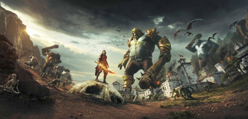 Iron Galaxy y Maximum Games anuncian su veloz juego de acción: Extinction - extinction_juego