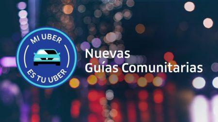 Uber lanza guías comunitarias para mejorar la convivencia durante los viajes