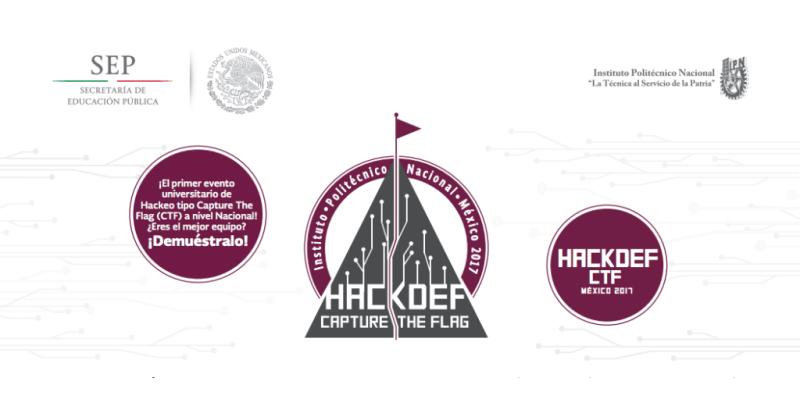 HackDef 2017: Primer concurso en Mexico de Hackeo colegial a nivel nacional - hack-def-capture-the-flag-800x406