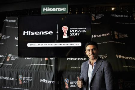 Serie H6 Hisense, la pantalla oficial de la Copa Confederaciones 2017