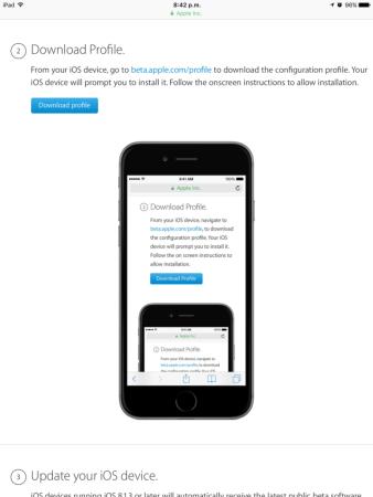 Apple lanza la primera beta pública de iOS 11
