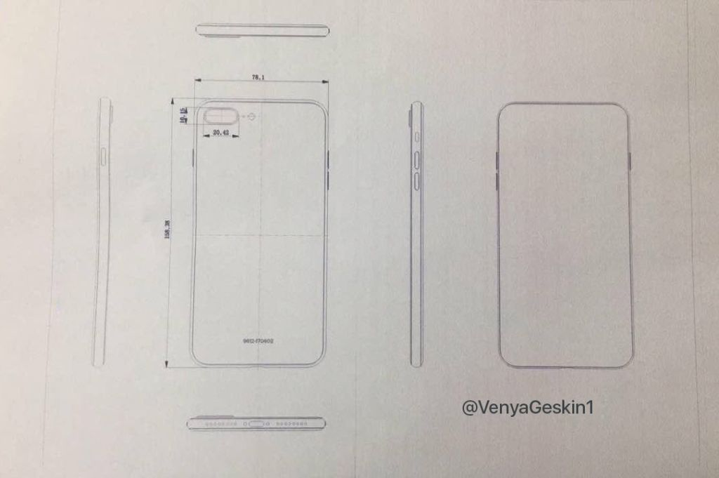 "Esquemas ""finales"" del iPhone 8 y del 7S Plus aparecen en la web - iphone-7s-final-schematics"