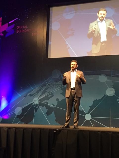 john farrel 02 La cuarta Revolución Industrial: oportunidades y retos, John Farrell en el Digital Economy Show