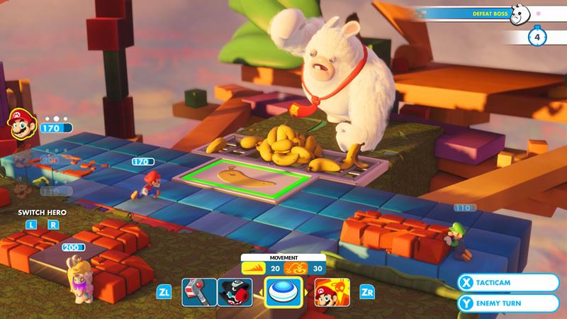 Ubisoft y Nintendo se unen para lanzar Mario + Rabbids Kingdom Battle - mario-rabbids-kingdom-battle-screen