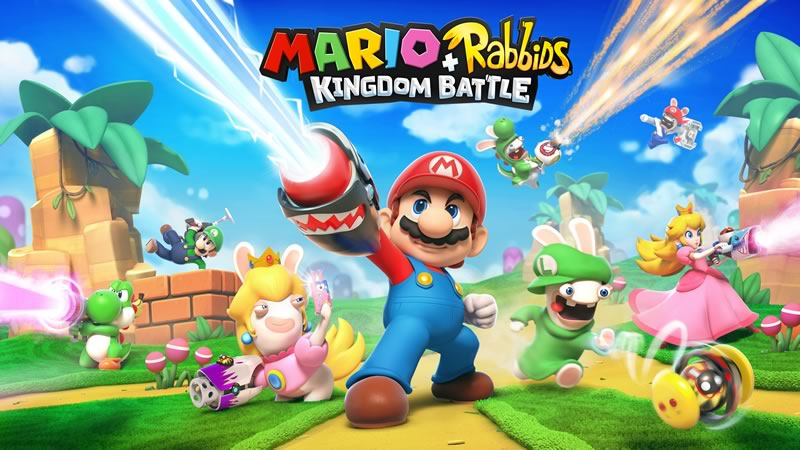 mario rabbids kingdom battle Ubisoft y Nintendo se unen para lanzar Mario + Rabbids Kingdom Battle