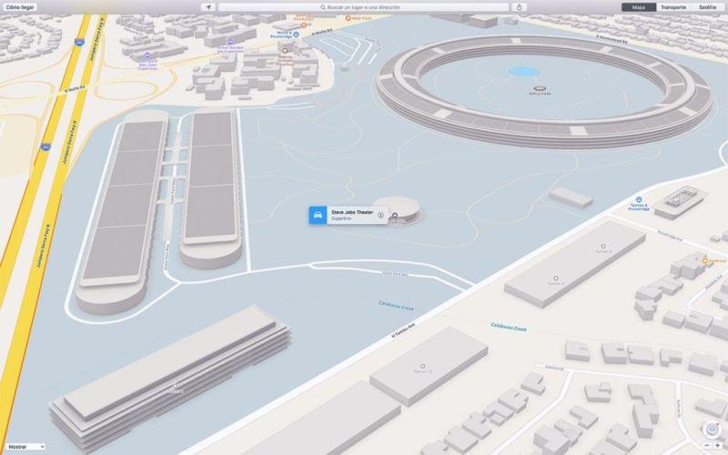 Ya puedes ver en 3D el Apple Park en los Mapas de Apple - medio-apple-park-2