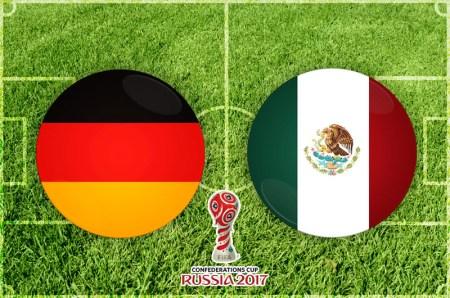 México vs Alemania, Semifinal Confederaciones 2017 ¡En vivo por internet!