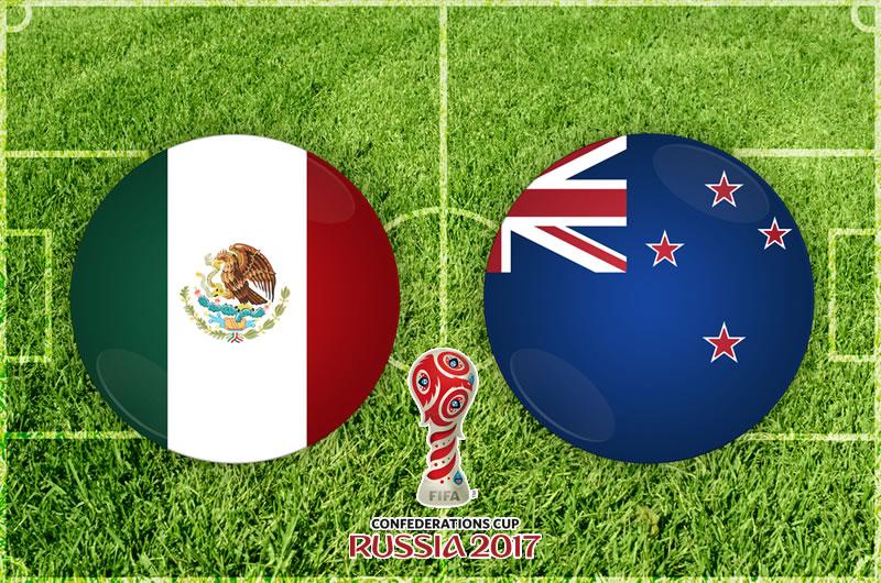México vs Nueva Zelanda, Confederaciones 2017 | Resultado: 2-1 - mexico-vs-nueva-zelanda-confederaciones-2017