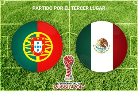 México vs Portugal, Tercer lugar Confederaciones 2017 | Resultado: 1-2