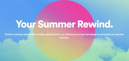 «Tus recuerdos de verano», la playlist personalizada de Spotify para el verano