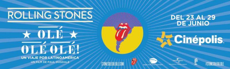Cinépolis presenta documental Rolling Stones Olé Olé Olé!: un viaje a través de América Latina - rolling-stones-ole-ole-ole-800x241