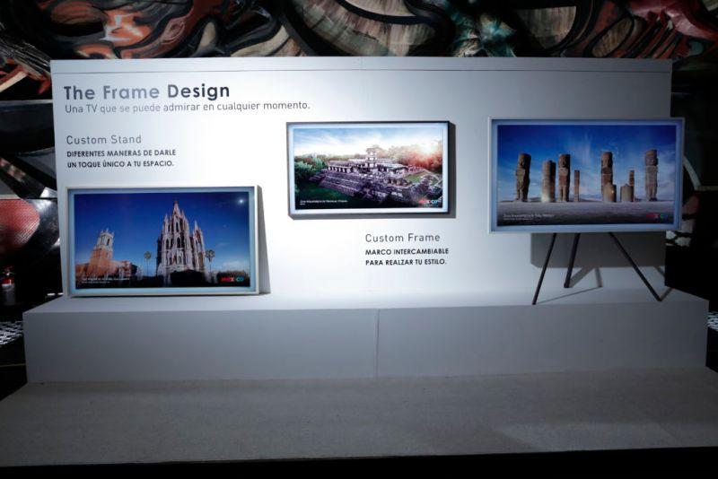 The Frame, nuevo concepto de televisor de Samsung totalmente artístico llega a México - the-frame-samsung_4-800x534