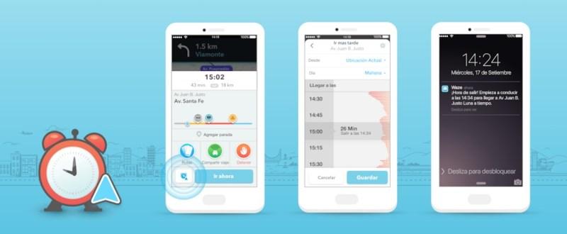 Funciones de Waze que te ayudaran a llegar seguro en tiempo de lluvias - waze-planned-drives_all-ios-screens-_espanol_latam_-800x330