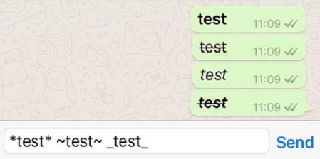 Ya puedes personalizar tus textos más fácilmente en WhatsApp