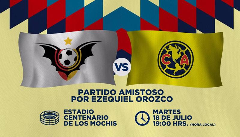 Murciélagos y América juegan emotivo partido en beneficio de 'Cheque' Orozco