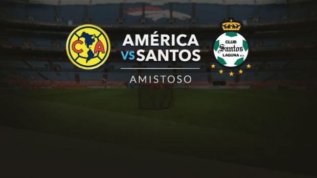 América vs Santos, Pretemporada AP2017 | Resultado: 3-2 - america-vs-santos-en-vivo-amistoso-5-julio