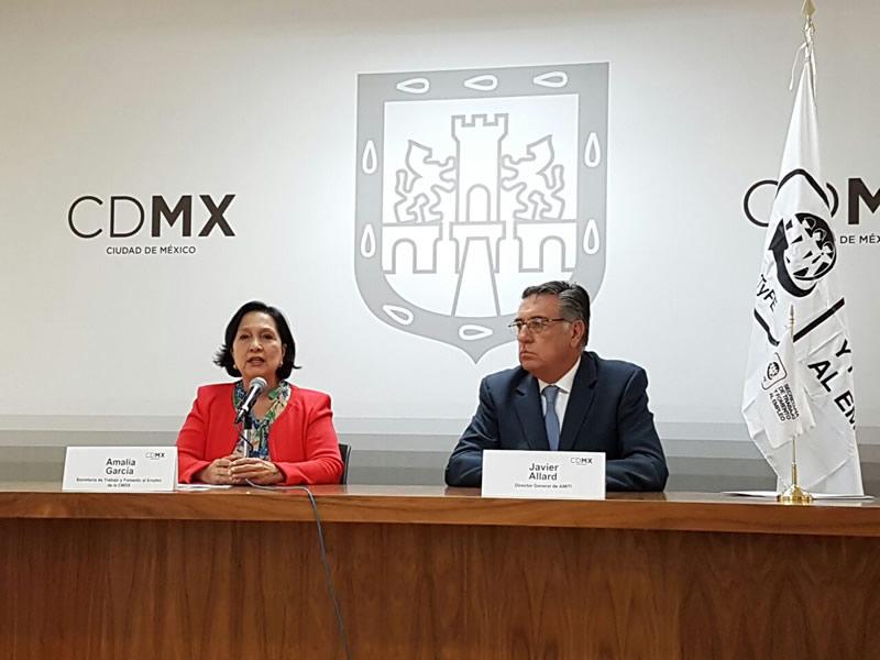 Servidores públicos de la CDMX harán