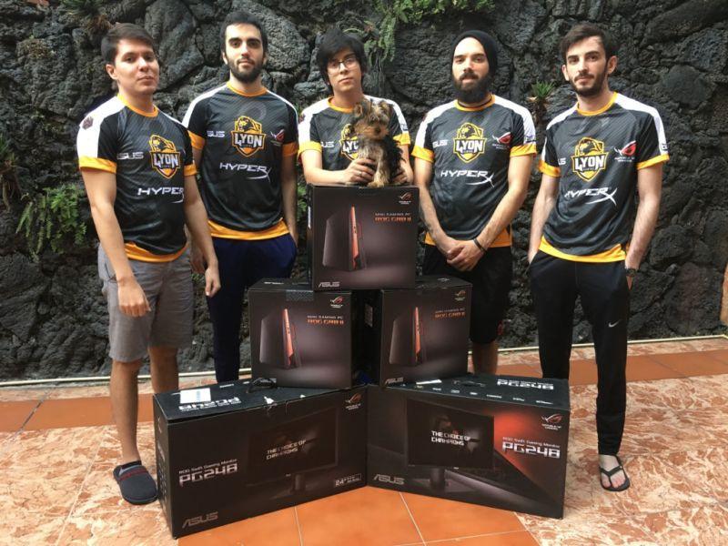 ASUS ROG, nuevo patrocinador oficial de Lyon Gaming - asus-rog-nuevo-patrocinador-oficial-del-equipo-lyon-gaming
