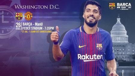 Barcelona vs Manchester United, International Champions Cup   Resultado: 1-0