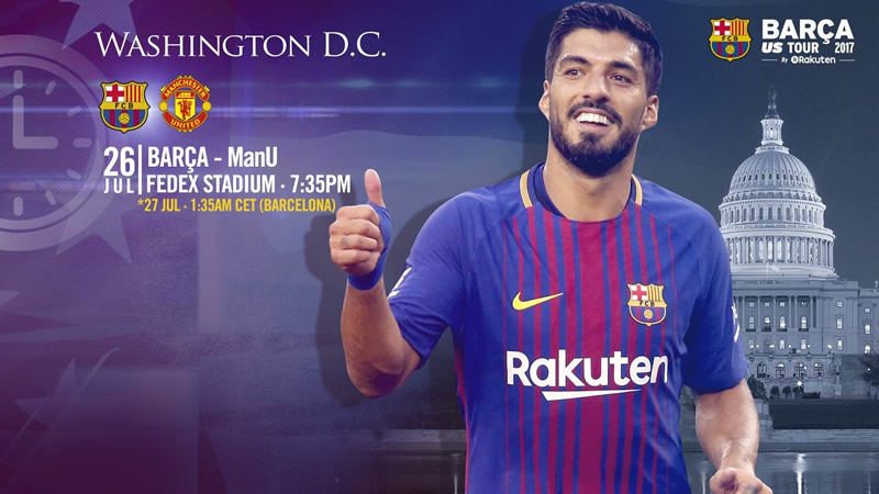 Barcelona vs Manchester United, International Champions Cup | Resultado: 1-0 - barcelona-vs-manchester-united-icc-2017