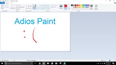 Microsoft le dirá adios a Paint en la Fall Creators Update de Windows 10