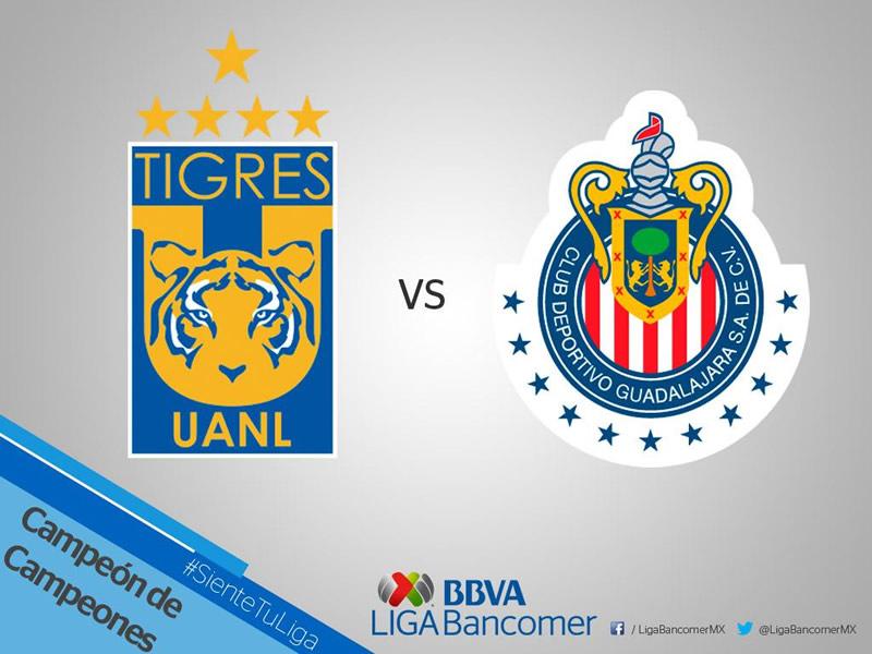 chivas vs tigres campeon de campeones 2017 Chivas vs Tigres, Campeón de Campeones 2017 | Resultado: 0 1