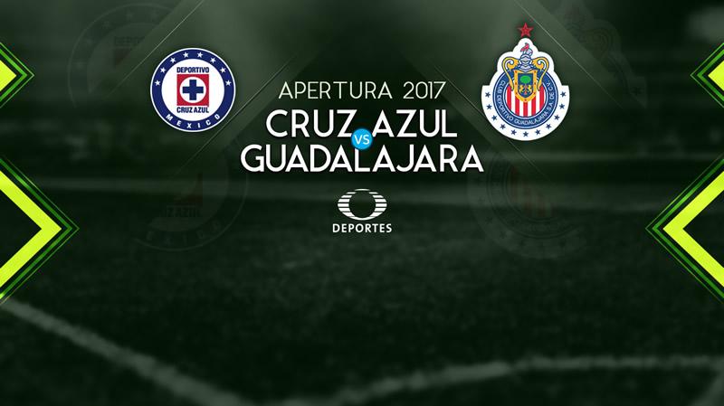 Cruz Azul vs Chivas, Jornada 2 Liga MX A2017 | Resultado: 1-1 - cruz-azul-vs-chivas-apertura-2017-en-vivo
