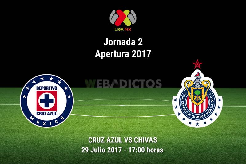 Cruz Azul vs Chivas, Jornada 2 Liga MX A2017 | Resultado: 1-1 - cruz-azul-vs-chivas-j2-apertura-2017