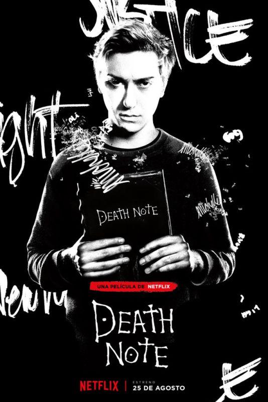 "Netflix presenta el póster del personaje de ""Light"" en Death Note - deathnote_vertical-light_turner_pre_las-534x800"