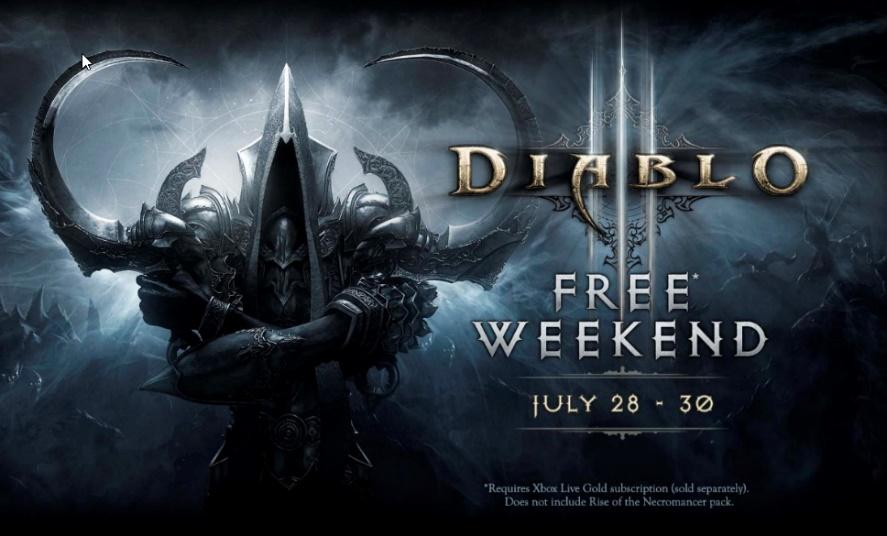 Diablo III: Ultimate Evil Edition ¡Gratis este fin de semana con Xbox Live Gold! - diablo-iii-reaper-of-souls-ultimate-evil-edition