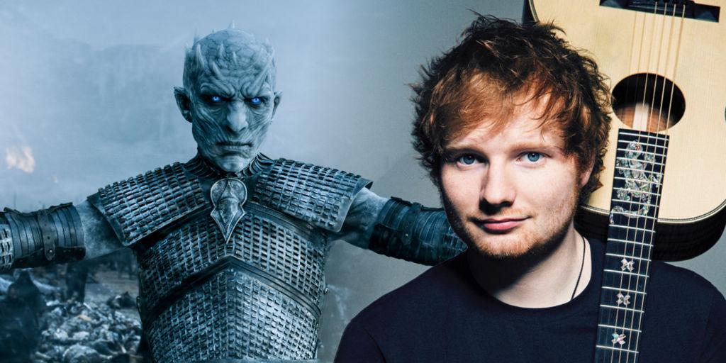Playlist de los cantantes que han actuado en Game of Thrones - ed-sheeran-game-of-thrones-season-7