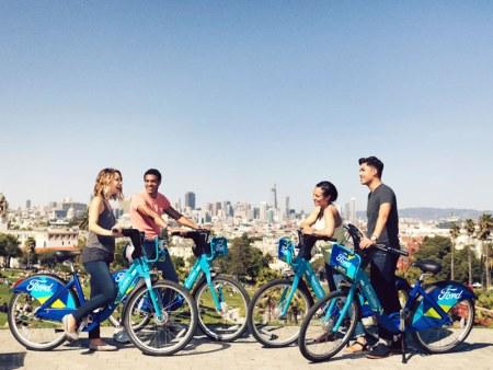 Ford GoBike, las bicicletas compartidas de Ford comienzan a circular en San Francisco