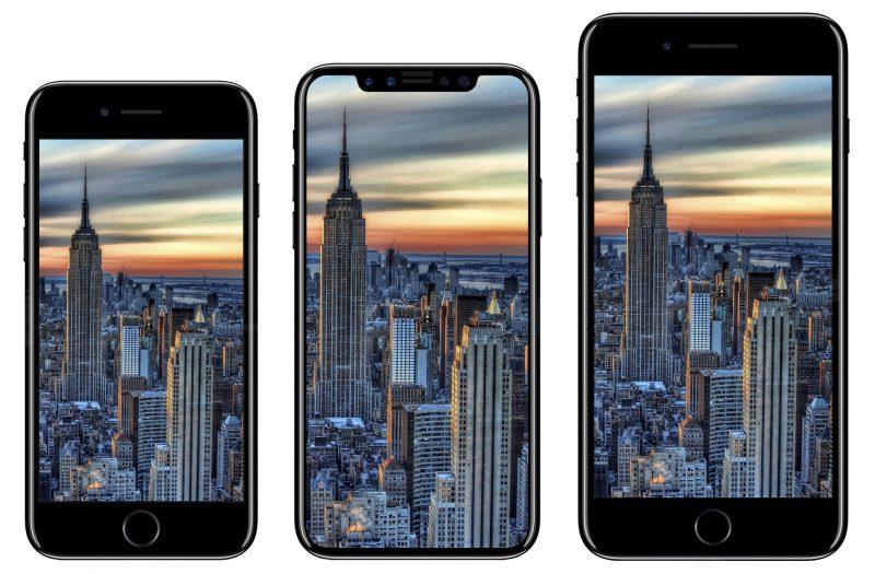 El iPhone 8 no tendría sensor Touch ID - iphone-2017