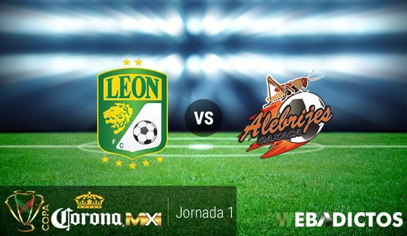 León vs Alebrijes, Copa MX Apertura 2017 | Resultado: 3-2 - leon-vs-alebrijes-oaxaca-copa-mx-apertura-2017