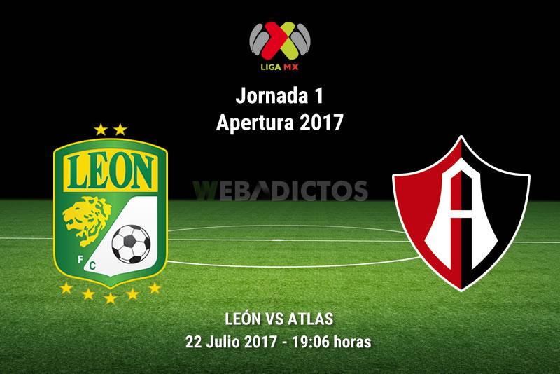 León vs Atlas, Jornada 1 Apertura 2017 | Resultado: 0-3 - leon-vs-atlas-j1-apertura-2017